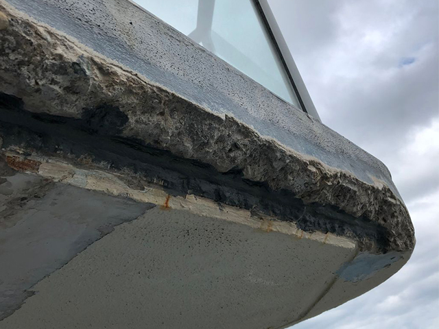 Concrete Spalling Repairs